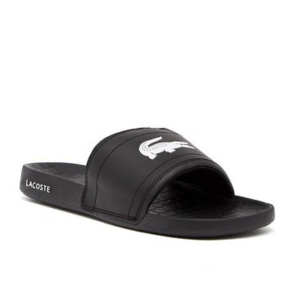 906e84f67e77 Lacoste Other - Lacoste Fraisier 118 1 US Slide Sandals Flipflops
